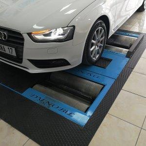 Audi ön sistem kontrolü
