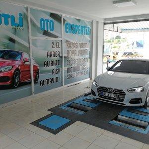 Audi motor gücü testi