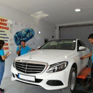 Mercedes boya kontrolü