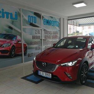 Mazda yanal kayma testi