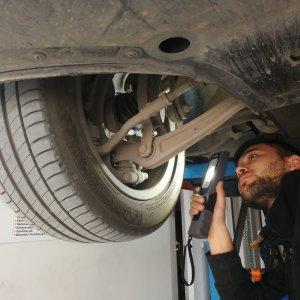 Detaylı araç alt sistem kontrol testi